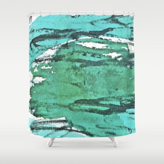 Friday Experiment Shower Curtain