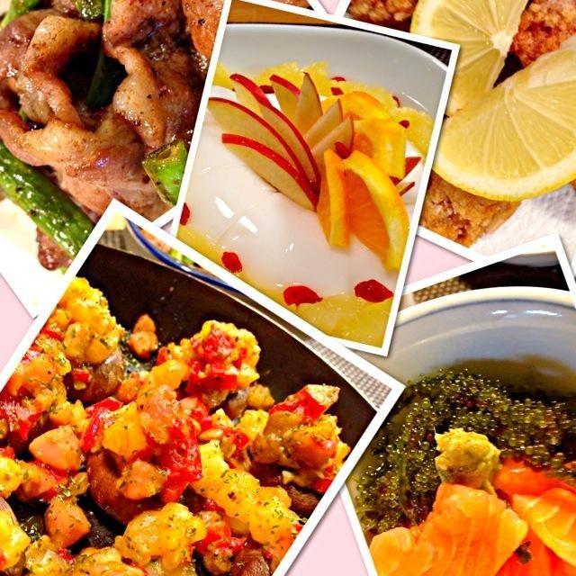 週末はまた色々食べまくり。 さかぽん!やっとつくりで、美味しかったよ気分はスペイン?マッシュルームが小さすぎて、次回はデカイので。ちゃんのバルサソース中味聞いて生姜焼きのお肉で旨旨 翌日うま〜い海ぶどうを頂き、新鮮なのはマジで美味いね!で、コストコサーモン久々GETで海ぶどう丼。コストコ鳥肉も人気で、竜田揚げに。で笑うはこのタイの杏仁豆腐。友達にもあげたら固まらないよーと。裏みて私も作ってみたら三カップが720mlに英訳計算間違い?なぜか前回も考えず、三カップで作りの私もレシピはよく読み気をつけようってか全部旨旨週末も皆様のお陰 - 176件のもぐもぐ - 週末色々飯さかぽんのマッシュルームのオイル焼ちゃんのバルサソースで豚肉炒めやら。メチャ美味海ぶどうももらいで海ぶどう丼 by Koro