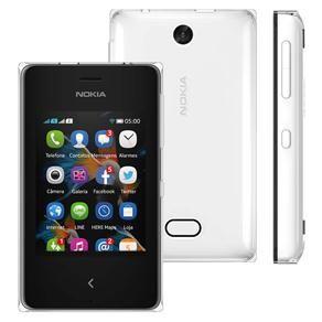 Celular Desbloqueado Nokia Asha 500 Branco com ...