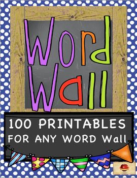 Skit Writing and Performance Pages, Creative Writing, Seatwork for Individual and for Partner Work, Dictionary and Thesaurus Skills, Poetry, Games, and more are included in this Activity Pack of 106 different printables and games for ANY WORD WALL!  See the preview for all that is inside of this huge set!