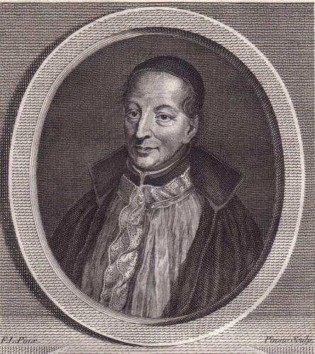 Portrait-XVIIIe-Francois-d-039-Aix-de-La-Chaise-Confesseur-du-Roi-Louis-XV-Jesuite