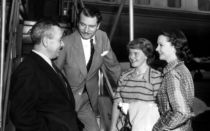 Daughter of Vivien Leigh who endured a difficult childhood and shunned the glare of publicity