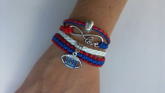 New York giants  football love infinity para by Bmariescreations