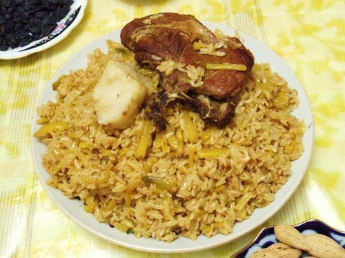 Uzbekistan food - Plov