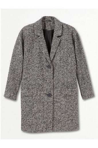 Tweed coat from Ellos
