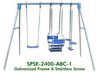 3 Unit Swing Set
