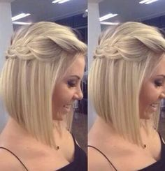 So cute this hair!! Perfect for special occasions and heat parties !!