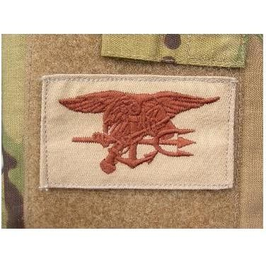 Navy Seals patch desert