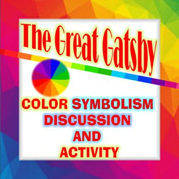 the colors of gatsby