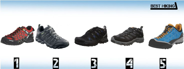 The best trekking shoes of 2014 reviewed