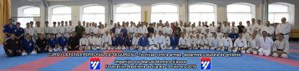 Defensa Personal Policial en la Federación Madrileña de Karate a cargo del Maestro D. Manuel Montero