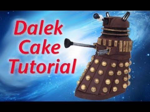 ▶ Doctor Who Dalek Cake HOW TO COOK THAT Dr Who Cake Doctor (Doctor Who) Ann Reardon - YouTube