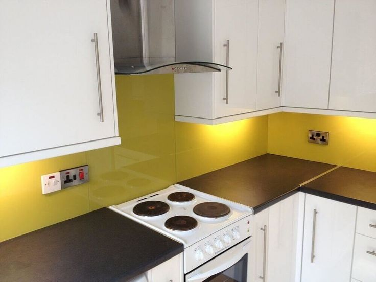 Made to measure coloured acrylic splashbacks for kitchens, made to match any paint range and can be cut and drilled at home