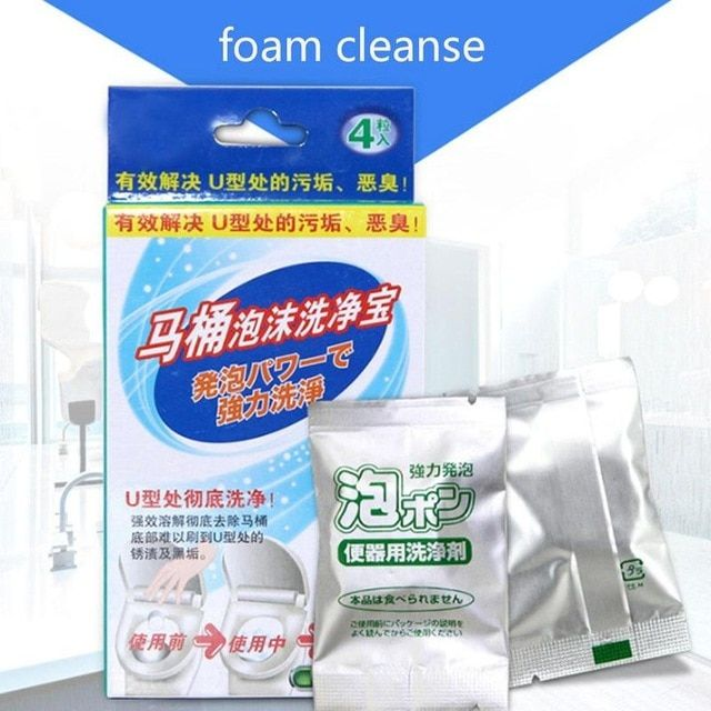 Dropshipping Toilet Bubble Bomb Cleaner 4pcs Sqm7912 Review Bubble Bombs Bubbles Cleaning Tablets