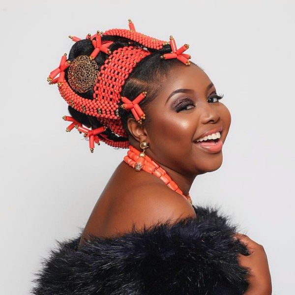 Nigerian wedding Edo-Benin bridal makeover by Glam by Isoken 3