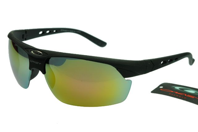 Oakley Active Sunglasses Black Frame Colorful Lens 0078
