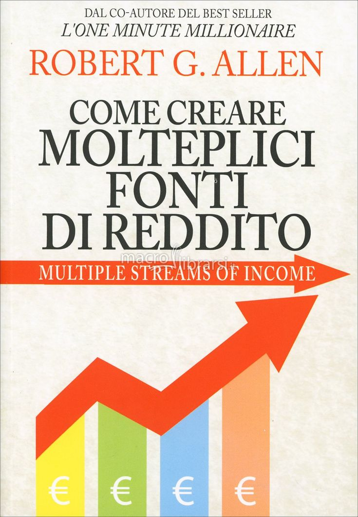Robert G. Allen - Come creare ricchezza per tutta la vita - Multiple Streams of Income - ★★★★★