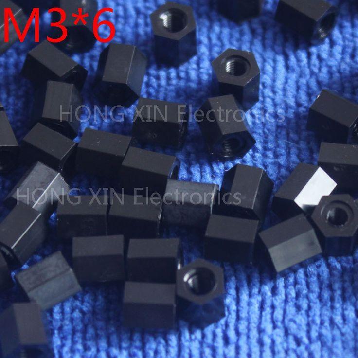 M3*6 6mm 1 pcs black nylon Black Nylon Hex Female-Female Standoff Spacer Threaded Hexagonal Spacer Standoff Spacer high-quality♦️ B E S T Online Marketplace - SaleVenue ♦️👉🏿 http://www.salevenue.co.uk/products/m36-6mm-1-pcs-black-nylon-black-nylon-hex-female-female-standoff-spacer-threaded-hexagonal-spacer-standoff-spacer-high-quality/ US $0.03