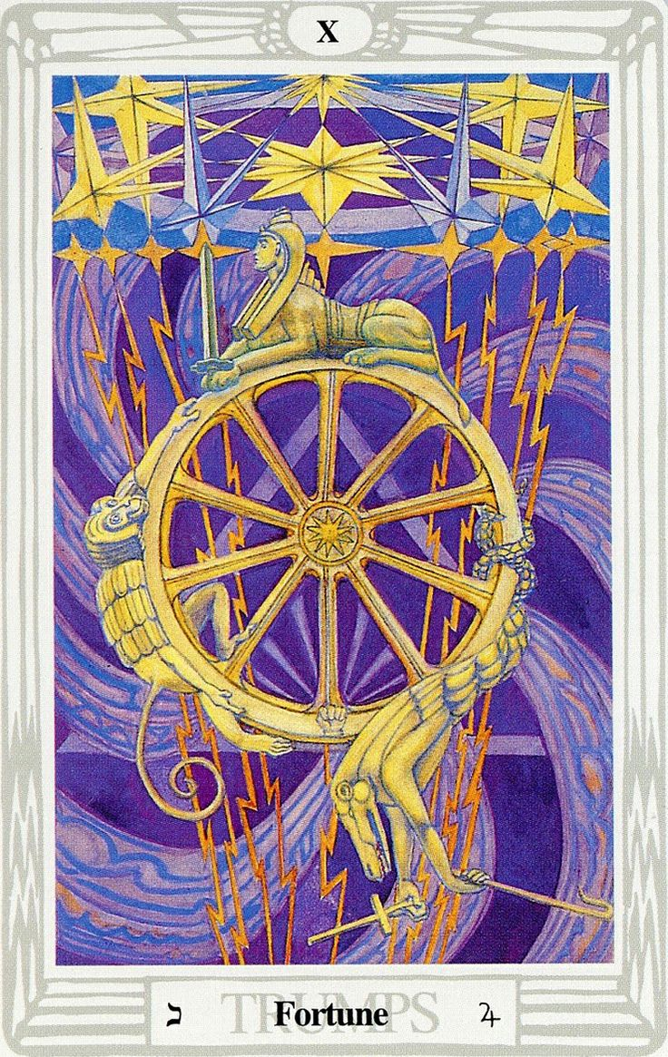 28 Best Thoth Tarot Images On Pinterest