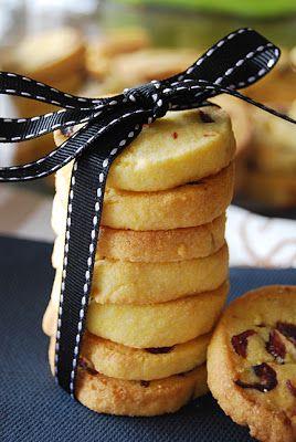 Lemon Polenta Cranberry Cookies | Food and Drink | Pinterest
