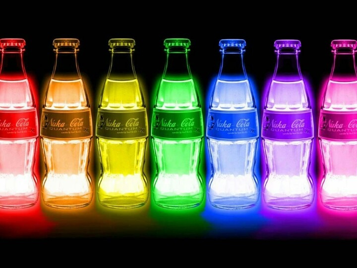 Glow and the dork coke-cola