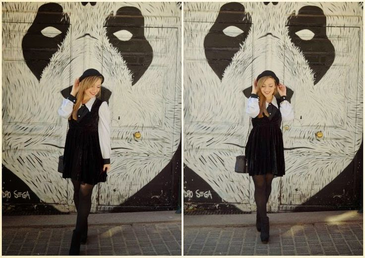 Chic Adicta, fashion blogger, cute girl, fashionista, ootd, lookbook fall autumn, kling outfit, vintage blouse, look blanco y negro, trendy look, Piensa en Chic www.PiensaenChic.com