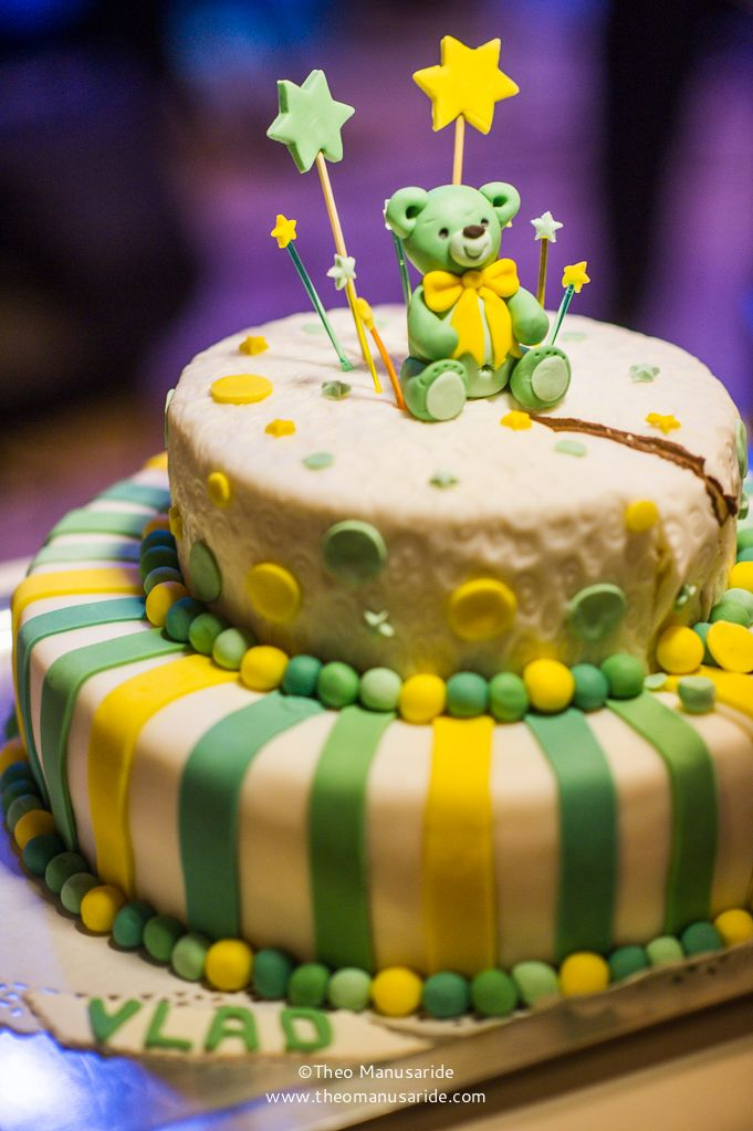 Teddy bear cake! Photo by Theo Manusaride