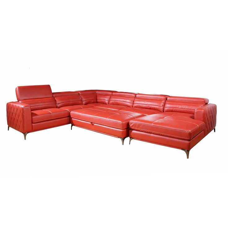 Bonded Leather 4 Pc. Sectional | Weekends Only Furniture And Mattress