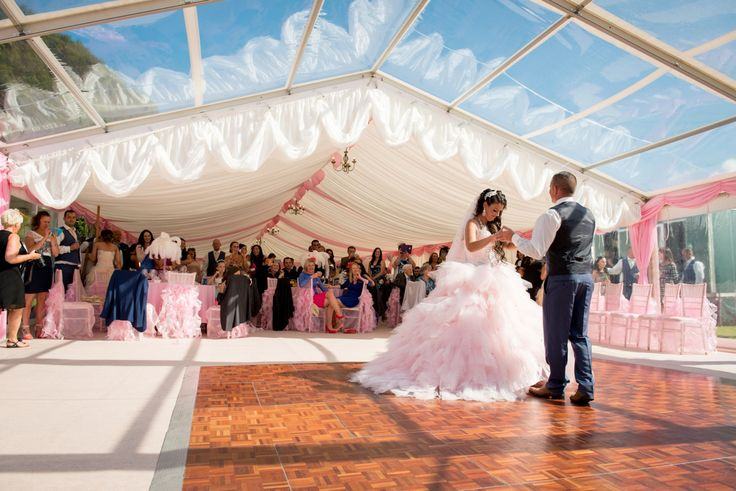 Pretty in pink, marquee & fittings by www.24carrotevents.co.uk