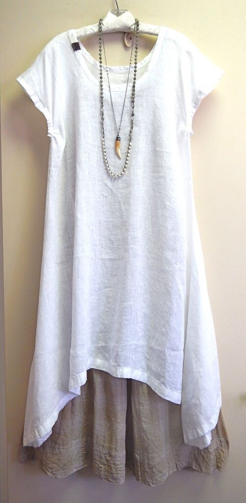 Summer Linen Tunic @ Kati Koos!                                                                                                                                                                                 More