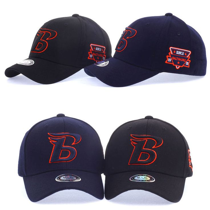 Mens Women Unisex Baltimore B Logo Flexfit Baseball Cap Stretch Fit Trucker Hats #hellobincom #BaseballCapHats