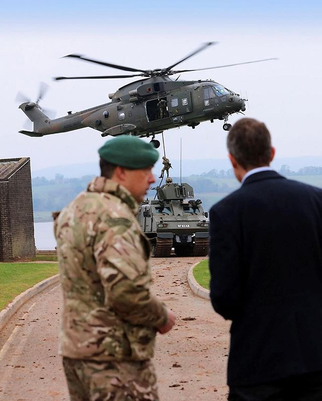 Secretary of State for Defence Mr Gavin Williamson MP CBE visited the Commando Training Centre Royal Marines (CTCRM) in Exmouth. The aim of his visit was to better understand the training and role of the Royal Marines.  Crown copyright 2018 #armedforces #army #navy #raf #militarylife #january2018