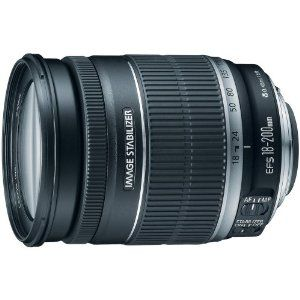 Amazon.com: Canon EF-S 18-200mm f/3.5-5.6 IS Standard Zoom Lens for Canon DSLR Cameras: For my NEXT camera: Canon Rebel