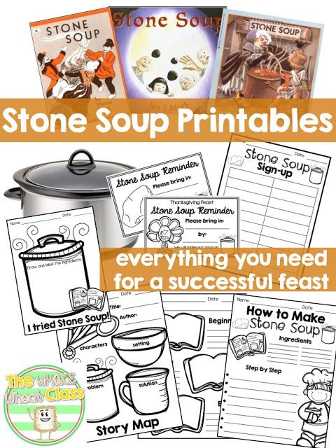 This resource is a companion unit to the popular Stone Soup folktale used by teachers to build community and often paired with a classroom feast during the holiday season.