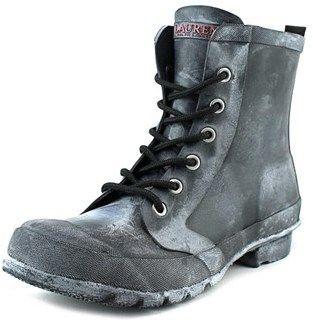 Lauren Ralph Lauren Mikenna-bo-rai Women Round Toe Synthetic Black Rain Boot.