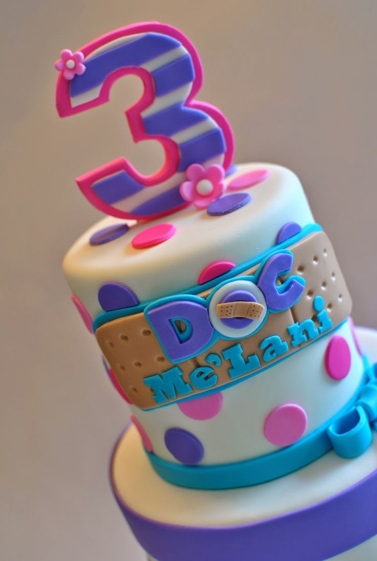 Doc mcstuffins bandages doc mcstuffins party ideas on pinterest doc - I Have Been So Blessed To Be Able To Create So Many Adorable Cakes Find This Pin And More On Doc Mcstuffins Birthday