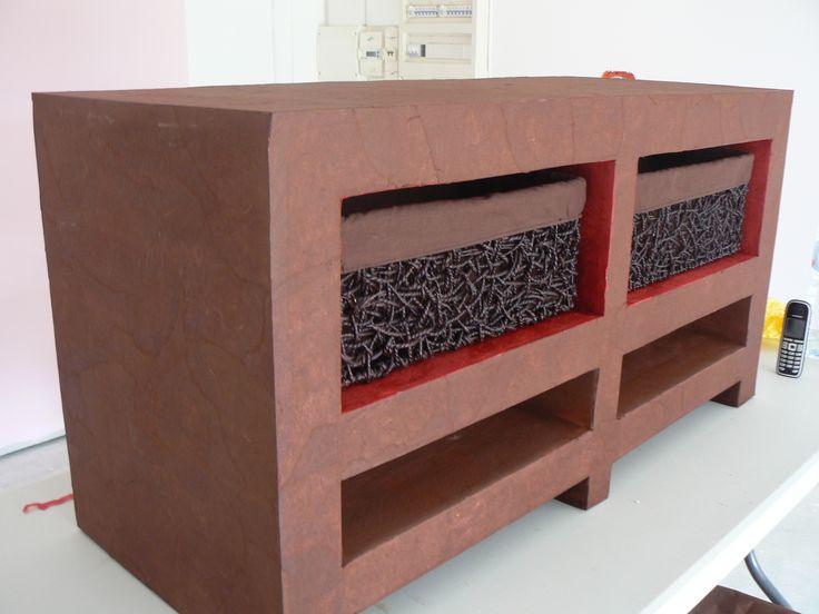 Les 128 meilleures images propos de meubles en carton for Tutoriel meuble en carton
