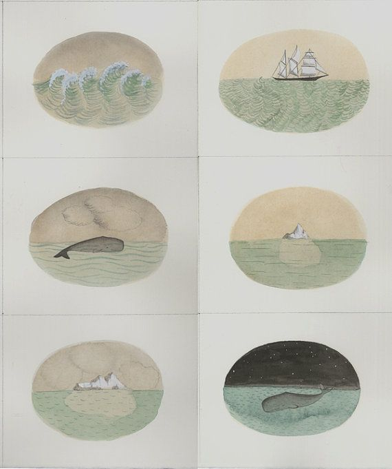 Whales and Ships and Icebergs for Sandy Relief by Sophie Blackall