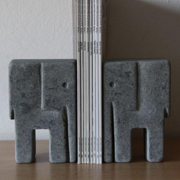 Elephant Book Holders.