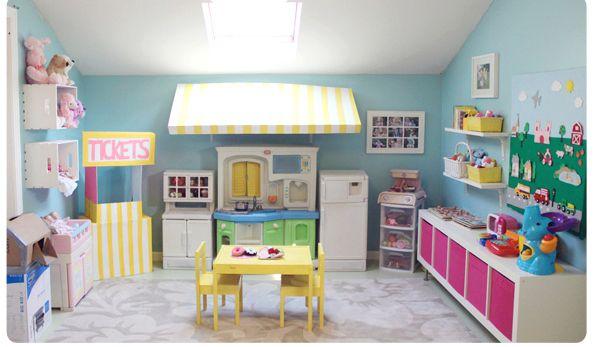 Playroom Awning Over Kitchen Kids Room Decor Playroom