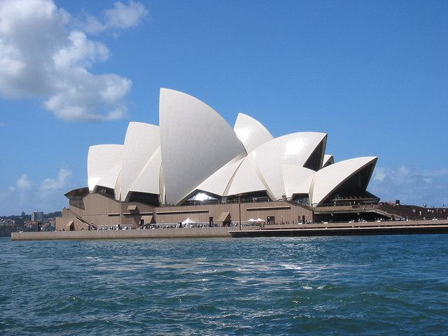 The Sydney Opera House  this world-famous opera house was designed by Danish architect Jørn Utzon. After 10 years of construction, it was finally completed in 1973.