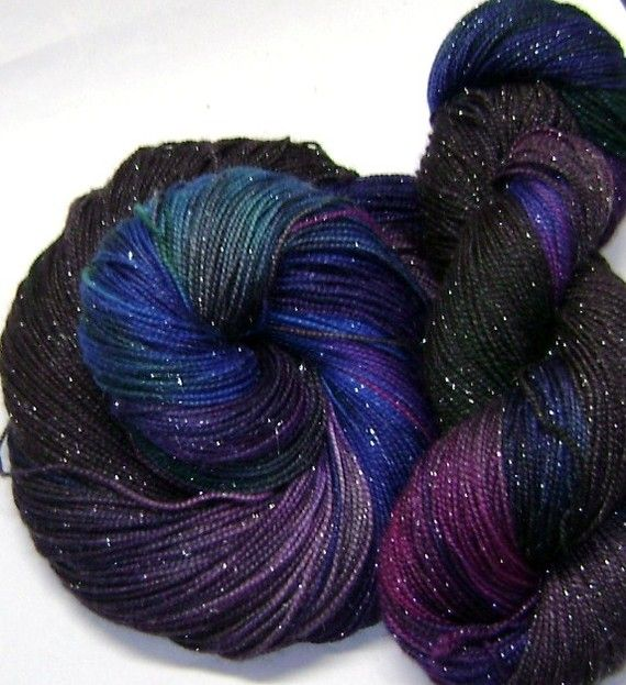This has to be the prettiest yarn I've ever seen!