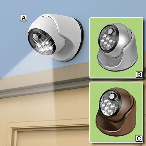 Get a look at whatu0027s going bump in the night with the Outdoor Motion Activity Light  sc 1 st  Pinterest & 33 best Cordless Lighting images on Pinterest | Storage ... azcodes.com
