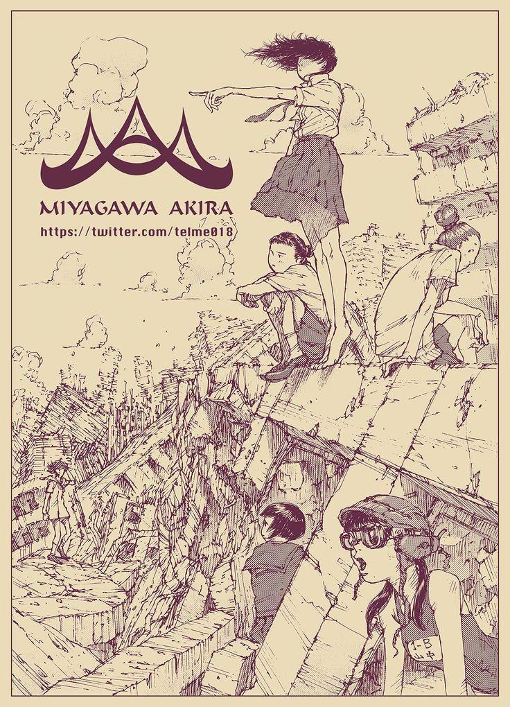 宮川輝 #illustration #illust #art #イラスト #絵 #画 #manga #drawing https://twitter.com/018telme