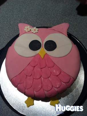 Willow's 2nd Birthday Owl