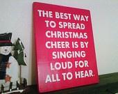 Elf Movie Wood and Vinyl Christmas Decoration