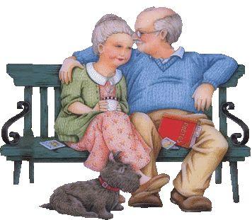 Однажды человек шел мимо некоего дома и увидел старушку в кресле-качалке, рядом с ней качался в кресле старичок, читающий газету, а между ними на крыльце лежала собака и скулила, как будто бы от бо…