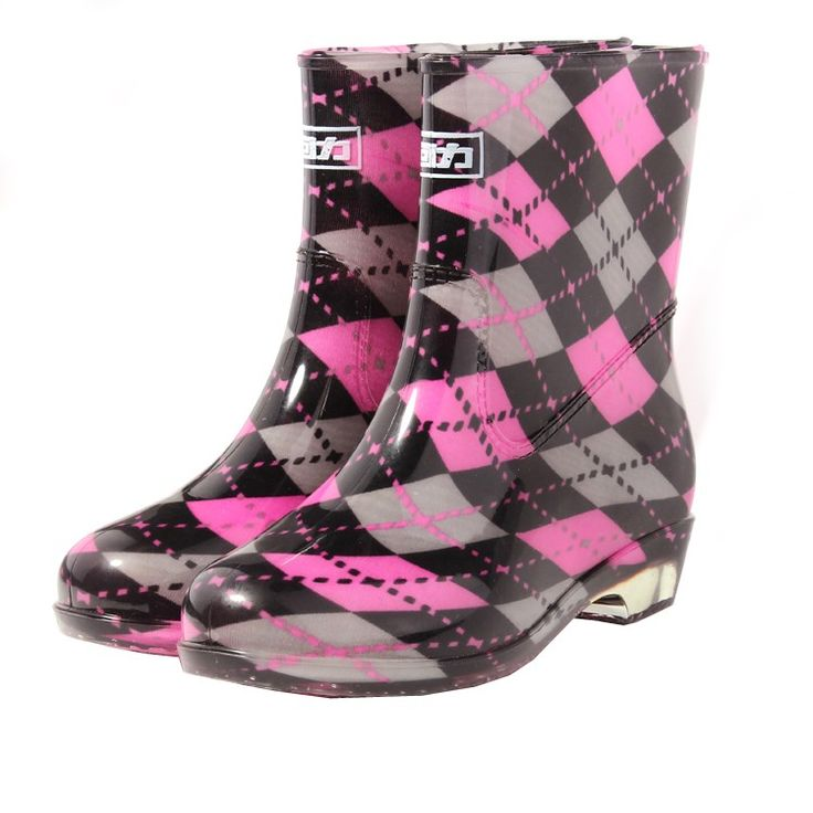 guerreiro sapatos femininos sapatos de água chuva curta botas flat deslizamento- resistente impermeável todos os- jogo rainboots 523 personalidade US $5.68