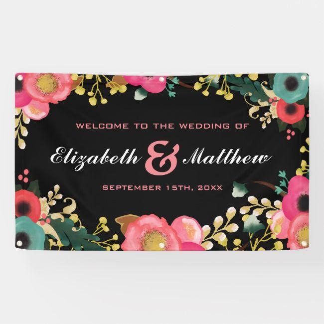 Create Your Own Banner Zazzle Com Custom Wedding Invitations Wedding Reception Decorations Wedding Gift Favors