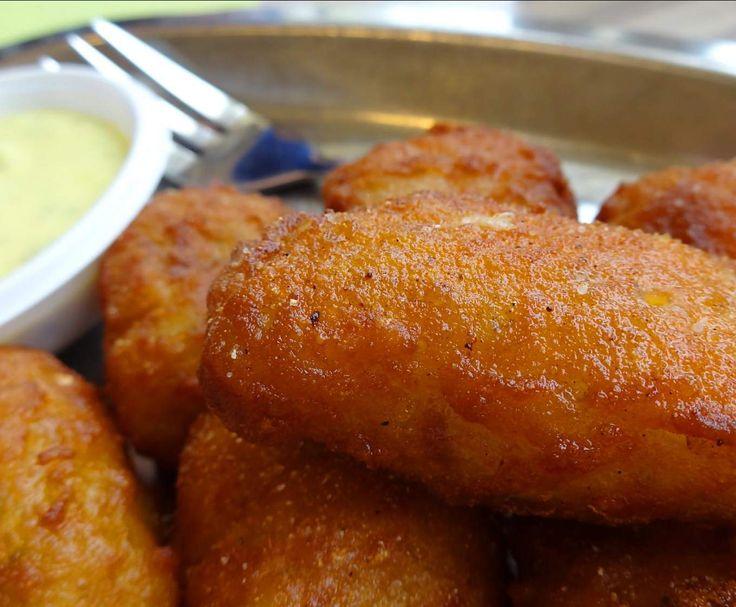 Rezept Kibbeling / Joppie-Sauce - ein Gruß aus Holland von Fett-For-Fun-Thermi - Rezept der Kategorie Hauptgerichte mit Fisch & Meeresfrüchten